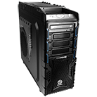 Thermaltake Overseer Full Tower Gaming Schwarz