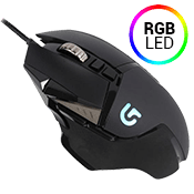 Logitech G502 Proteus Spectrum Wired RGB Tunable Gaming Mouse