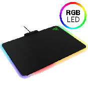 Razer Firefly-Hard RGB Gaming Mouse Mat [355MM x 255MM x 4MM] Micro-textured finish; 16.8M customizable Chroma lighting