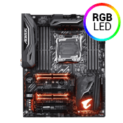 GIGABYTE AORUS X299 Gaming 3 -- 4x PCIe x16, 3x USB 3.1 8x USB 2.0, 2x M.2, RGB, WIFI Included [Intel Optane Ready]