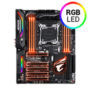 GIGABYTE AORUS X299 Gaming 9 -- 4x PCIe x16, 3x USB 3.1 8x USB 2.0, 2x M.2, RGB, WIFI Included [Intel Optane Ready]