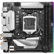 ASUS ROG STRIX Z370-I GAMING -- 1x PCIe x16, 6x USB 3.1 Gen1, WiFi [Intel Optane Ready]