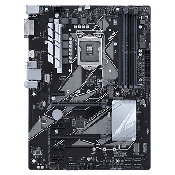 Asus Prime Z370-P INTEL Z370 Chipset, ATX Mainboard w/ 4 RAM slots, USB 3.1, 1 x PCIe x16, 1 x PCIe x4, 4 x PCIe x1, 4 SATA3, 2 x M.2