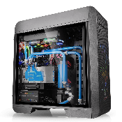 Thermaltake Core V71 TG Gaming Case (Side Glass Panel) Black
