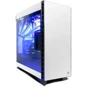 Corsair Carbide Clear 400C Midi Tower weiss