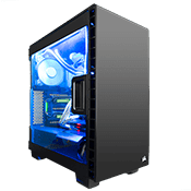 Corsair Carbide Clear 400C Midi Tower schwarz