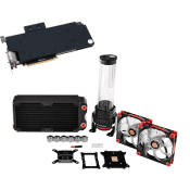 Thermaltake Pacific RL240 Wasserkühlung mit GPU kit-Single Card