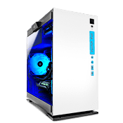 In Win 301 Tempered Glas Gaming Gehäuse - Weiss
