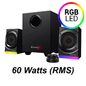Creative BlasterX Kratos S5 2.1 RGB Gaming Speaker System