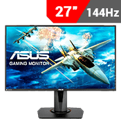"27"" [1920 x 1080] ASUS VG278Q EYE CARE GAMING MONITOR - 144Hz 1ms - AMD FreeSync + G-Sync Compatible + Eye Care"