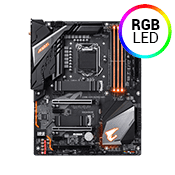 GIGABYTE Z390 AOURS PRO WIFI -- RGB, 802.11ac WiFi, USB 3.1 (4 Rear, 2 Front), Digital VRM Design