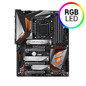 GIGABYTE Z390 AORUS ULTRA -- RGB, 802.11ac WiFi, USB 3.1 (5 Rear, 2 Front), Digital VRM Design