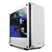 be quiet! Pure Base 500 Tempered Glass Weiss